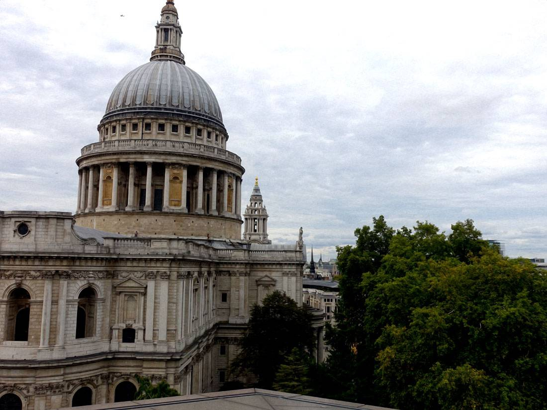 Blick auf St. Pauls Cathedral