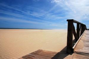 Strand in Isla Canela